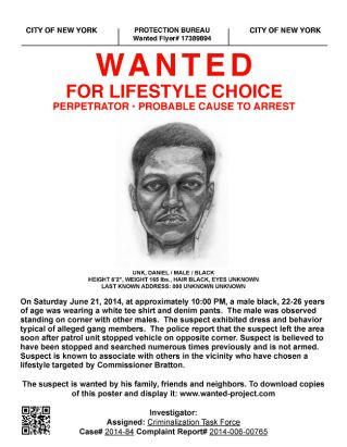 Wanted Mock Police Sketch_Courtesy_Dread Scott
