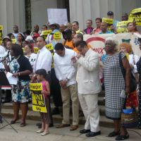 Advocates KickOff 2015 Uptown Housing March