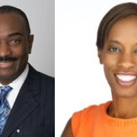 Links Honors Reginald Van Lee and Dawn Davis In Harlem