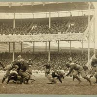 Army Vs. Navy, Polo Grounds, Harlem 1916 (video)