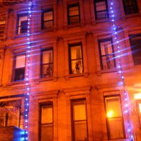 Harlem Townhouses Glow With Holiday Cheer