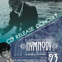 C. Anthony Bryant CD Release Concert In Harlem
