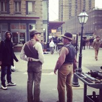 The Knick Again Filming In Harlem