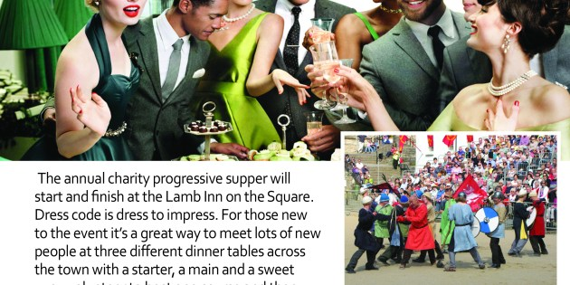 Axbridge Review: Save the date of Saturday, November 16th, 2019, for the Progressive Supper