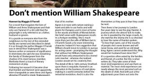 RAPSCALLION MAGAZINE BOOK REVIEW: Maggie O'Farrell's Hamnet – a re-imagining of the lives of the Shakespeares of Stratford-upon-Avon with the focus on William's mysterious wife Agnes (Anne Hathaway)
