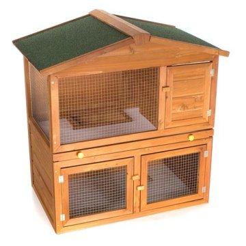 happypet hasenstall kaninchenstall wrb101 testbericht. Black Bedroom Furniture Sets. Home Design Ideas