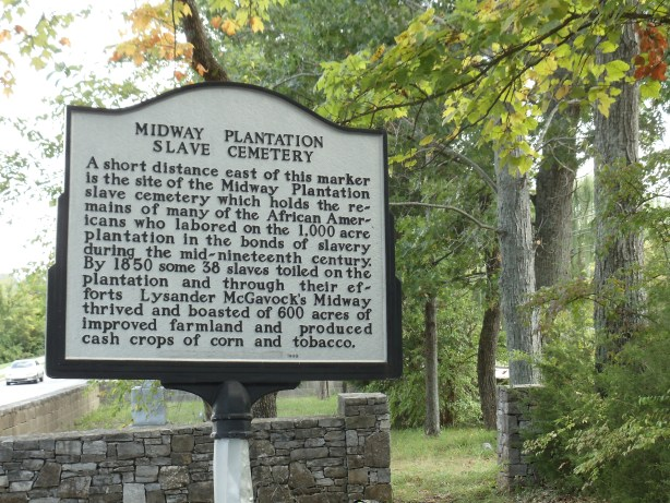 Midway Plantation Slave Cemetery