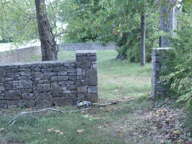 Entrance to the Midway Plantation Slave Cemetery