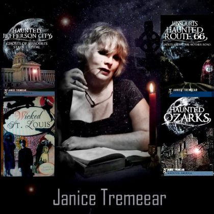 Janice and her books