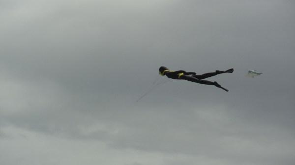 Scuba Diver in the Sky
