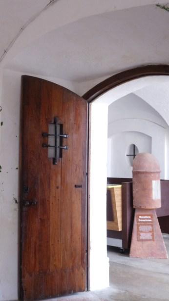 Doorway in El Morro's Living Quarters