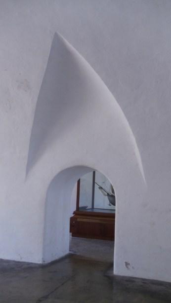 One of the doorway's inside San Cristobal's walls