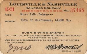 Rail Pass 1931