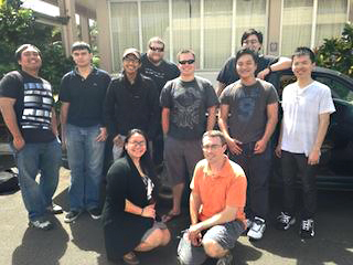 The Honolulu Community College and University of Hawaii-West Oahu student cyber security team placed second in the Collegiate Cyber Defense Competition