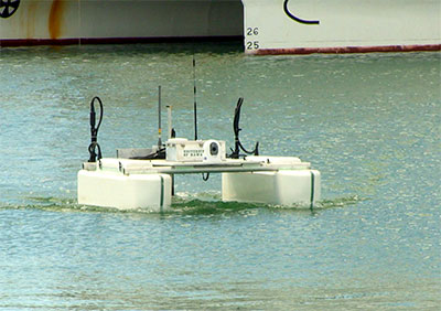 UH unmanned port security vessel