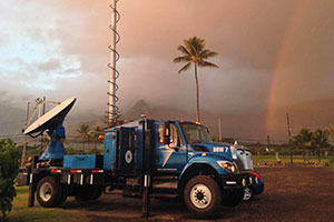 Doppler on Wheels mobile radar system