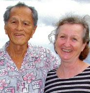 Larry Suyama and Edith Stoecklein