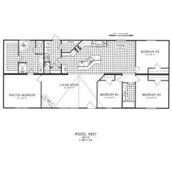 Small Crop Of 4 Bedroom Floor Plans