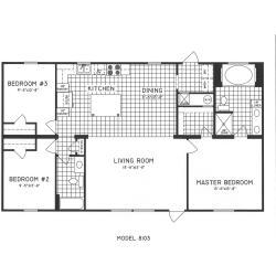 Small Crop Of 3 Bedroom Floor Plans