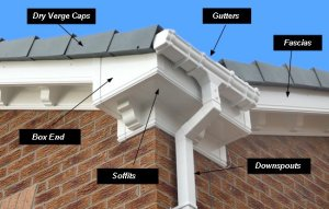 Facias, Guttering, Soffits and more