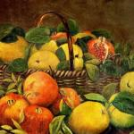 Şeker Ahmet Paşa - Nar ve Meyveler b