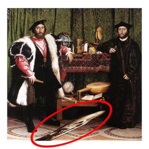 Hans Holbein - The Ambassadors