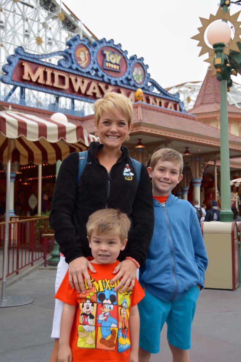 Another Disneyland Resort Day - Spring Break 2016 Trip Day Four