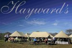 Hayward's Grand Tented Camping facilities