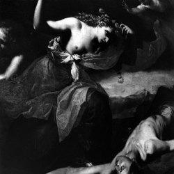 Gaetan Viaris – D'après « la mort d'Adonis » de José de Ribeira, 1591-1652. Musée de Cleveland. 100×100. Tirage baryté.