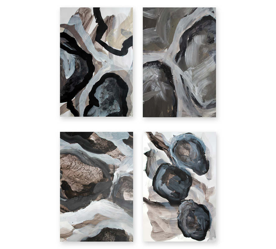Sylvie Pohin Papiers pigments