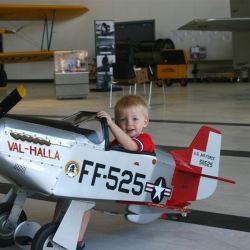P 51 Mustang Pedal Plane for Allister