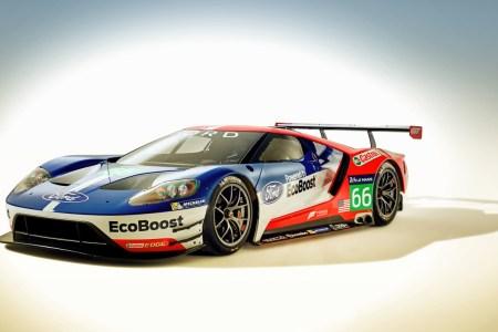 ford gt race car 2016 1366x768