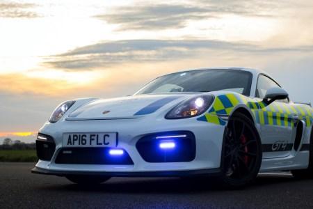 porsche cayman gt4 police car 2017 4k 1920x1080