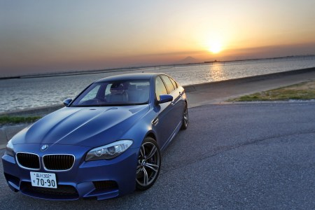 the bmw m5 wide