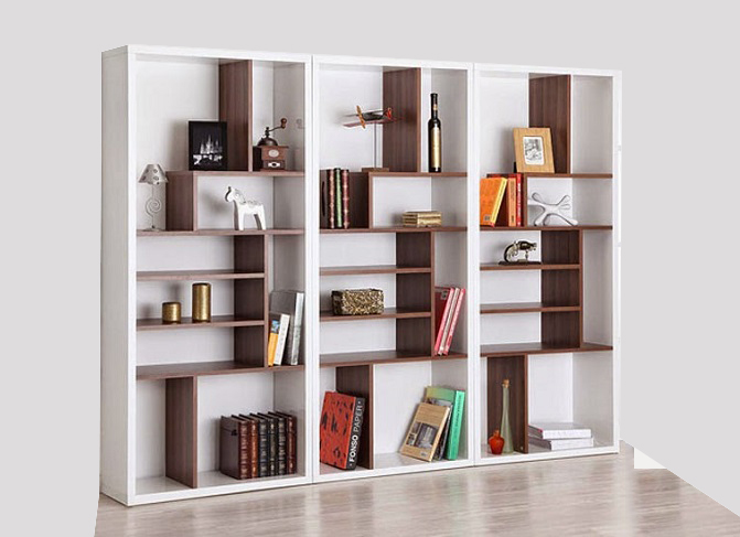 ID: HT BS17, Modern Office Bookshelf