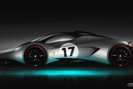 ferrari super car concept hd