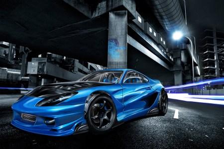 street race car wide