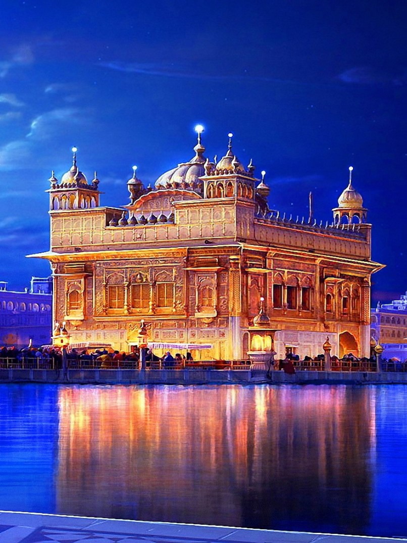 Wallpapers Hd Golden Temple Floweryred2 Com