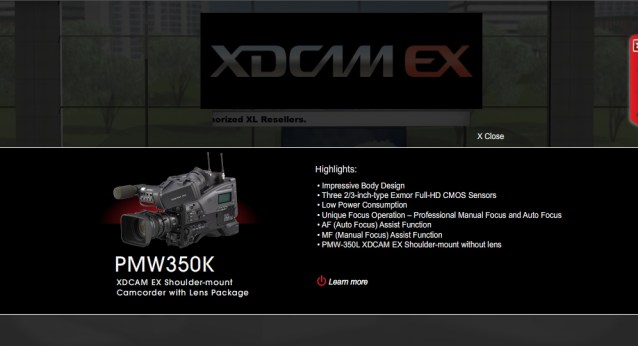EX stand 350