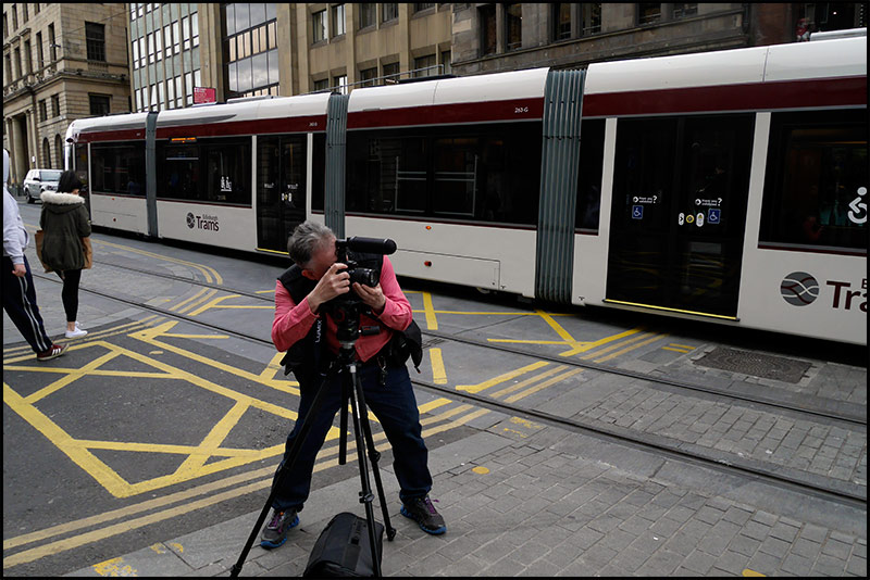 Filming-trams