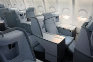 New Finnair seat