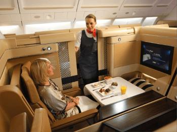 Etihad First Class suite