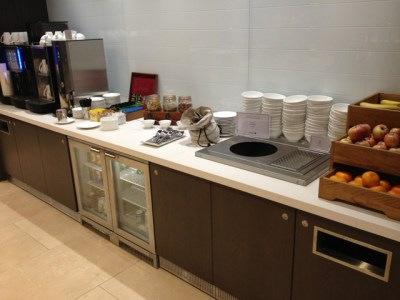 BA Edinburgh lounge 4 review