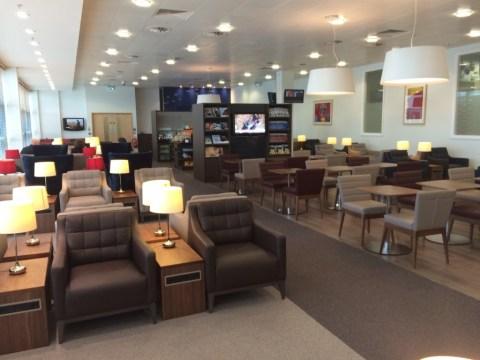 British Airways Belfast lounge new 4