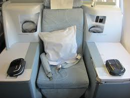 New Finnair business class seat