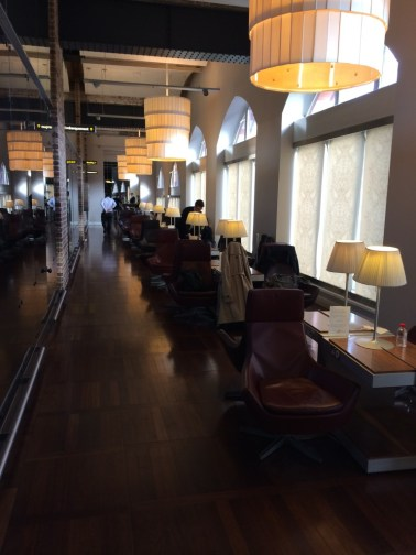 Eurostar lounge St Pancras London 2 review
