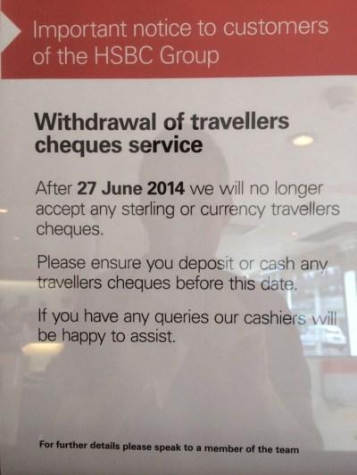 HSBC notice