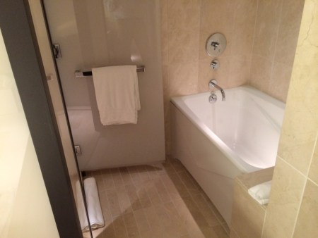 Conrad New York bathroom