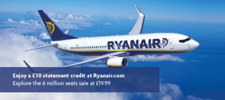 Ryanair American Express promo