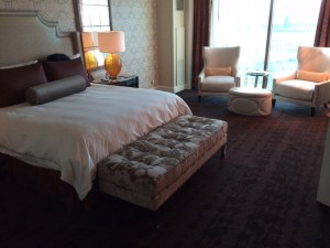 Four Seasons Las Vegas bedroom review